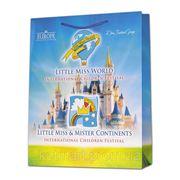 """Бумажный пакет, сумка """"Little Miss World"""" фото"""