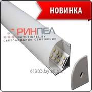Профиль накладной угловой с экраном Для LED лент NUGL 30х30 фото
