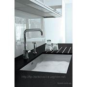 Кухонная столешница из кварца фото