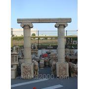 Декоративная колонна для архитектуры фото