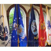 Печать индивидуальных флагов фото