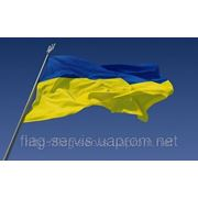 Флаг Украины 90Х135 фото