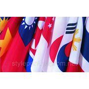 Изготовление флагов, изготовление настольных флажков фото