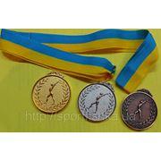 Медаль наградная диаметр 45мм 1 место Медаль наградная 2 место атрибутика награда медаль 3 место фото