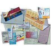 Полиграфия по низким ценам (визитки, календарики, открытки, листовки, меню) фото