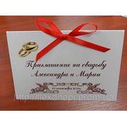 Свадебные приглашения. фото