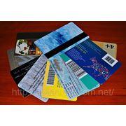 Пластиковые карты фото
