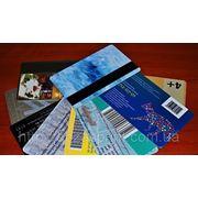 Пластиковые карты Одесса фото