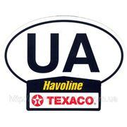 Изготовление наклеек UA на автомобиль фото