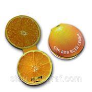 "Cтикер типа Post-it ""Апельсин"" фото"