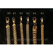 Золотые цепи оптом, золотые цепи под заказ фото