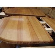 Стол деревянный на раздвижной системе фото