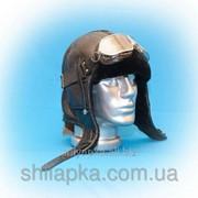 Зимняя шапка-шлем из натуральной овчины 39/19-1 фото