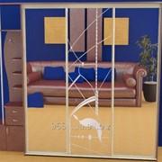 Зеркало для шкафов купе 42401 фото