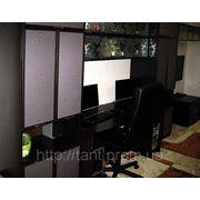 Стенка под телевизор и компьютер с рисунком под заказ киев фото