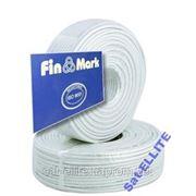 TV кабель 75 Ом FinMark 660 white 100 м фото