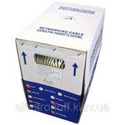 Кабель UTP 5-Е Solid CU (4x2x(0.45CU) OD:5.2mm) 305м фото