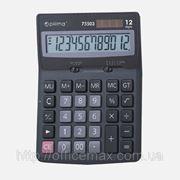 Калькулятор электронный 12 разрядов, 170 * 105 * 32мм фото
