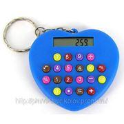 Калькулятор «сердечко» — брелок фото