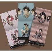 Кукольный календарь Тамары Пивнюк, настенный, полноцветный, формат 30х33см, 15 листов, на металлической спирали, в целлофановой упаковке. фото