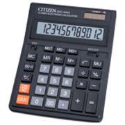 Калькулятор CITIZEN настольный SDC-444S, 12 разрядов фото