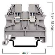 Винтовые клеммы AVK стандартные сечение от 2,5 до 35 фото