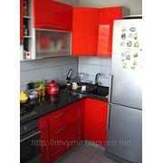Кухня Червоний глянець фото