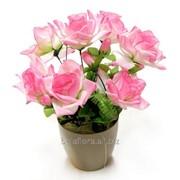 Роза макси искусственная в горшке БФ80016 фото