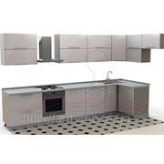 Кухонный гарнитур на заказ с крашенным фасадом Бородянка Буча Ирпень Ворзель Клавдиево фото