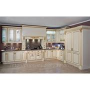 Кухня из дерева под заказ фото