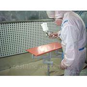 Профессиональная покраска деревянных изделий, стекла, мелкая реставрация мебели фото