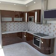 Кухни с фасадами МДФ крашеный фото