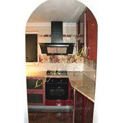 Кухня «Космическая тарелка» фото