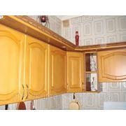 Кухня сосновый фасад фото