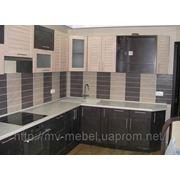 Кухня с рамочным МДФ фасадом фото