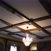 Потолки деревянные фото