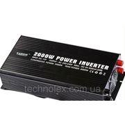Преобразователь напряжения, автомобильный инвертор 12/220 вольт – RAGGIE POWER INVERTER RGP-2000W фото
