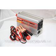 Преобразователь авто инвертор 12V-220V 500W, купить Преобразователь напряжения инвертор 12-220V 1000W фото