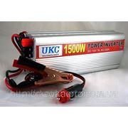 Преобразователь авто инвертор 12V-220V 1500W, купить Преобразователь напряжения инвертор 12-220V 1000W фото