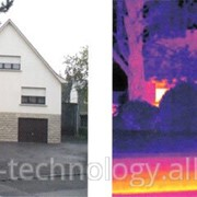 Тепловизионное обследование дома тепловизаром FLIR фото