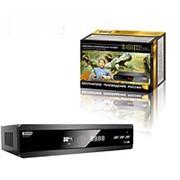 Ресивер эфирный цифровой DVB-T2 HD HD-600RU металл фото