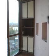 Шкафы на заказ на балкон фото