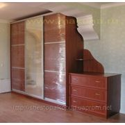 Шкафы-купе из екологически чистых материалов фото