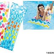 Матрац надувной для плавания пестрый 59711 фото