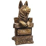 Скульптура Любопытный сторож / Собака 20х37х21см. арт.МК1103 фото
