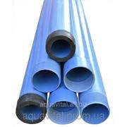 Пластиковая обсадная труба для скважин Ø 140, стенка 6.5 мм, Egeplast, Турция фото