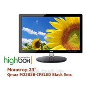 "Монитор 23"" Qmax M2385B-IPSLED Black 5ms фото"
