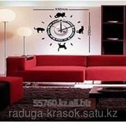 Часы-Стикеры Наклейки размер 35Х35 фото