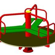 Карусели для детских игровых площадок фото