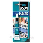 BISON PLASTIC - Клей для твердого пластика 25 ml фото